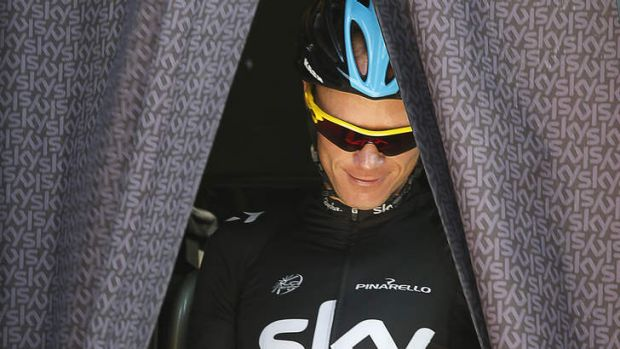 Silly cycle: Chris Froome said it was ''quite sad'' his great Mont Ventoux win had been overshadowed.
