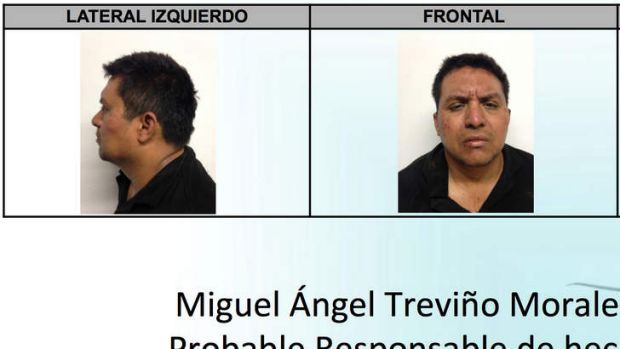 Most wanted: mug shots of Miguel Angel Trevino Morales.