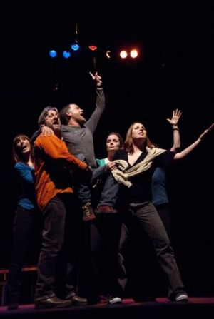 "Improvention 2013 participants include Michelle Nussey, PJ Williams, Daniel Cordeaux (Thank God You're Here""), Catherine ..."