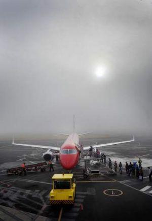 Heavy fog: Visibility was ''virtually non-existent''.