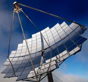 The next step is to expand towards a 2000-dish farm generating 100 megawatts.