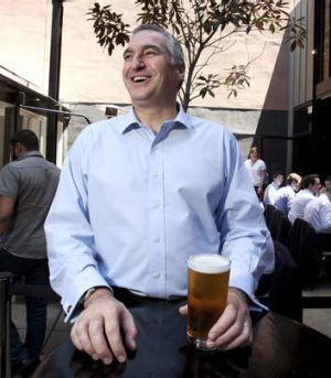 Foster's boss and managing director of SABMiller Asia-Pacific, Ari Mervis.
