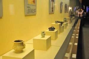 """A fake collection: Museum owner Wang Zonquan claimed """"even the gods cannot tell whether the exhibits are fake or not""""."""