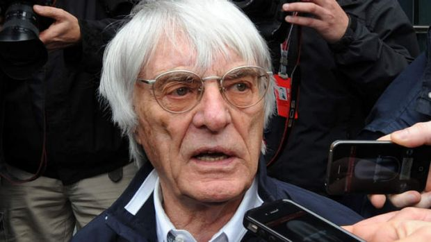Bernie Ecclestone: charged with bribery by a German court.