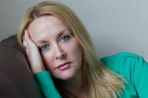 Aftermath … Kerrie Tyler controls her pain with medication.