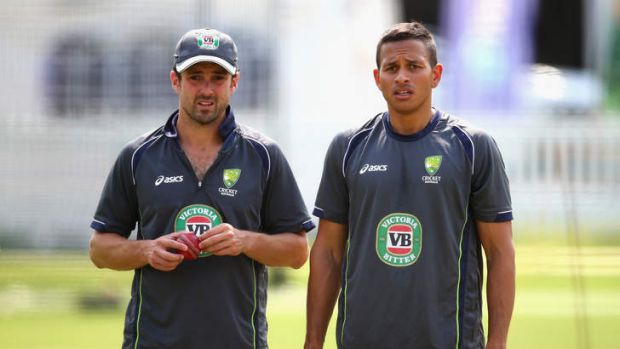 Top-order specialists: Ed Cowan and Usman Khawaja.