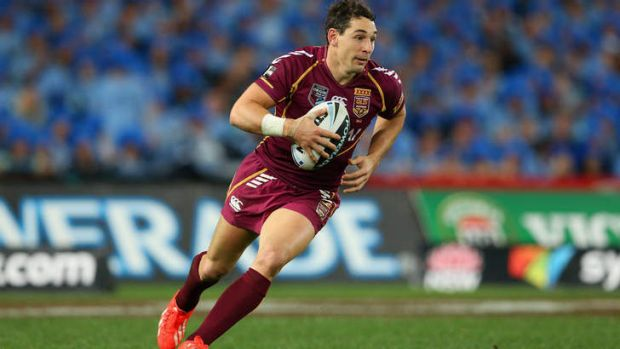 Billy Slater in Origin III.