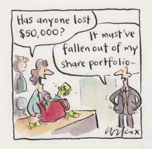 <em> Illustration: Cathy Wilcox </em>
