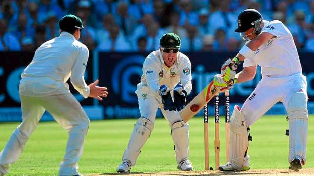 Run machine: Unheralded batsman Ian Bell stepped up for England in the last Ashes series.