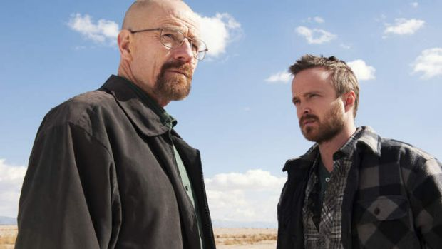 TV hit: Breaking bad.