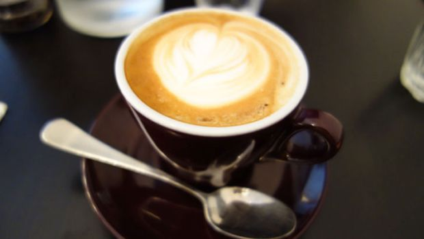 """Fiori coffee at Little Guildford was creamy but needed a bit more """"ooomph""""."""