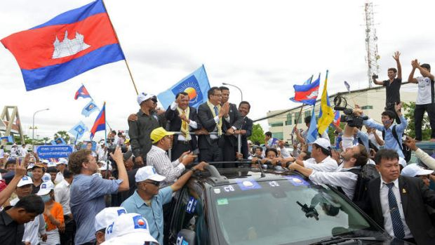 Cambodian activists fear for the future ahead of national ...