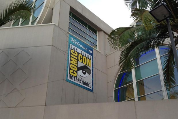 Comic-Con in San Diego is a huge geek festival.