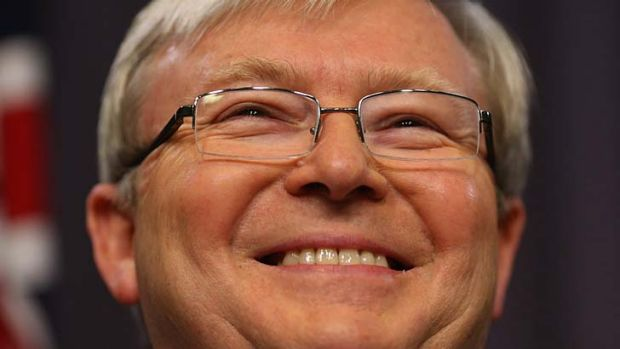 Kevin Rudd the Great Campaigner.