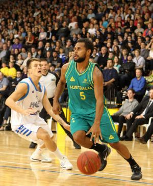 Patty Mills will play for the Boomers in Canberra.
