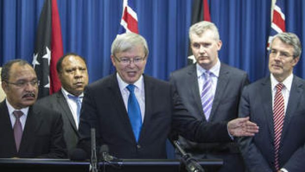 Safety first: Rudd acts quickly to prevent ambush for future Prime Ministers.