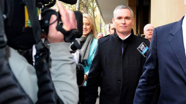 Former Federal Labor MP Craig Thomson is accused of using a Health Services Union credit card to pay for prostitutes.