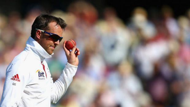 Easy come: Graeme Swann accepts the applause for his five-wicket haul.