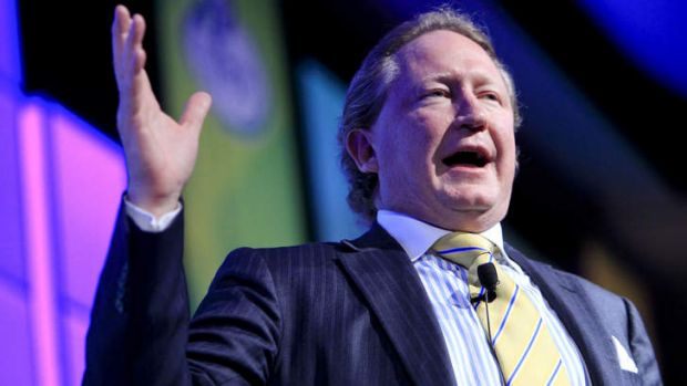 "Fortescue investors say their relationship with chairman Andrew Forrest was ""rockier than the Aussie outback""."