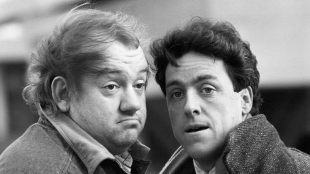 'He was a gentleman and a scholar, a gambler and a wit': Griff Rhys Jones, right, pictured with Mel Smith in 1987, has ...