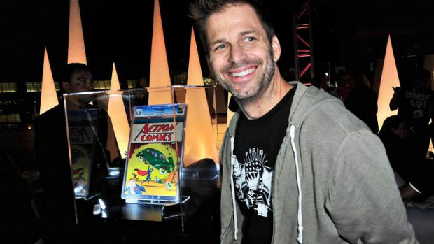 Director Zack Snyder announced the new movie at the San Diego Comic Con.