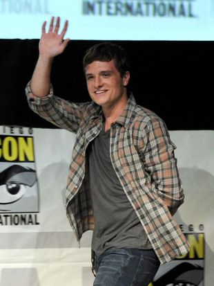 Hunger Games star Josh Hutcherson.