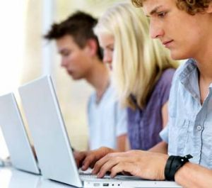BYOD: Some schools require children to bring their own laptops.