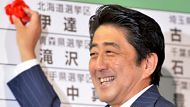 Victory in Japan for Abe's LDP party (Video Thumbnail)