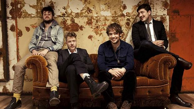 Mumford & Sons have been nominated for Best Rock Song at the Grammys three times.