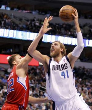 Staying power: Dallas Mavericks veteran shooter Dirk Nowitzki.