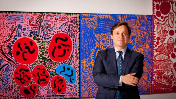 National Gallery of Victoria director Tony Ellwood.