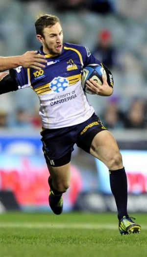 Turning heads: Nic White of the Brumbies has been impressive this Super Rugby season.