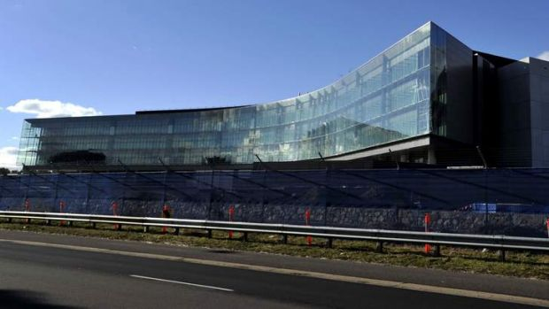 ASIO's new headquarters in Canberra.