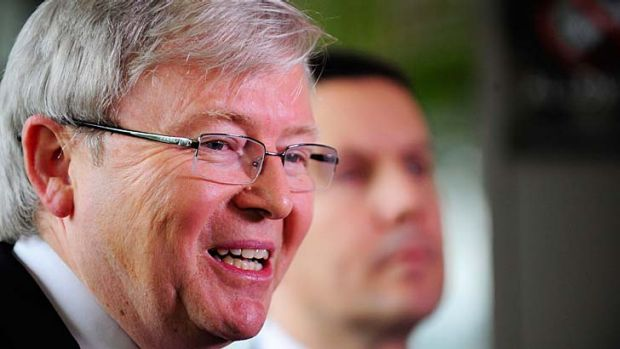 """""""The right knows Rudd plans to redefine what Labor represents""""."""