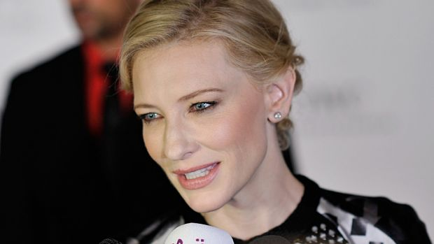 Modest: Cate Blanchett had doubts about her work on Woody Allen's upcoming movie.