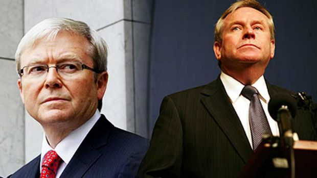 Kevin Rudd has scheduled a meeting with Colin Barnett to discuss the Gonski reforms.