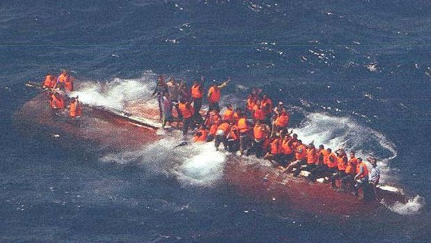 The Siev 358 made at least 16 calls for help before it capsized, killing more than 100 men.