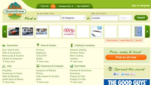 Police say the con artist has pulled off the Gumtree scam about 300 times.