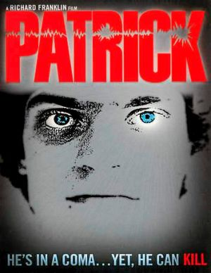 The poster from the original <i>Patrick</i> film made in 1978.