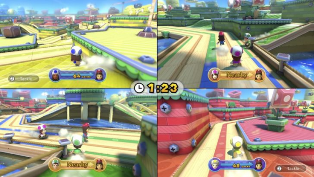 Mario Chase, part of Nintendo Land on the Wii U, is one of the best party games you can play.