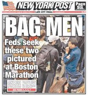 The New York Post cover.