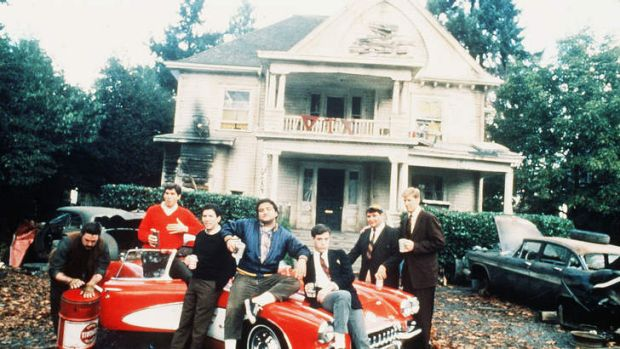 A photo from National Lampoon's Animal House, a film which immortalised fraternity life.