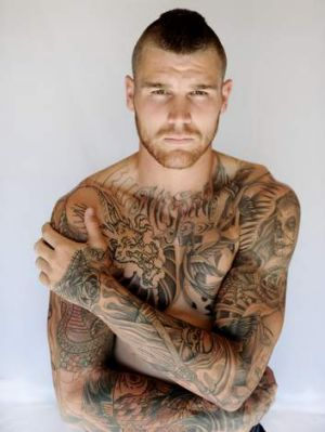 His ink: Josh Dugan.