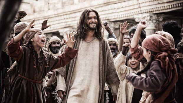 Lord's prayer: Diogo Morgado as Jesus struggles against evil - and a familiar storyline - as Channel Nine looks to ...