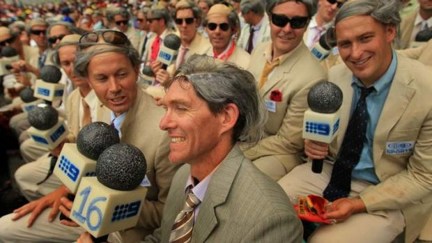 Even these Benaud stand-ins, gathered to cheer on the locals last year, would beat the Brits.