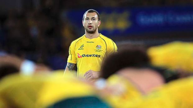 Quade Cooper insists he'll he will have to prove his worth to stay in the Wallabies squad.
