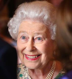 Queen Elizabeth II shares news of her great-grandson.
