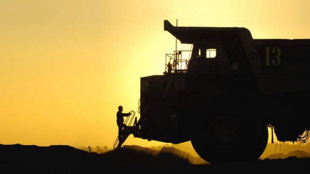 Mining slowdown pressures earnings.