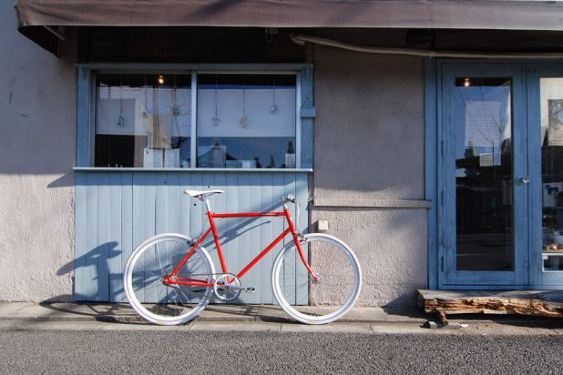 Tokyo: Tokyobike is an invitingly minimalist space that specialises in simple, well-priced urban commuter bikes.