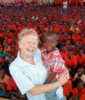 """She has rescued and given hope to thousands"": Gleeson in 2007."